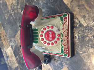 Coca Cola phone very collectable