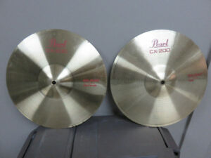 PEARL CX200 CYMBALS