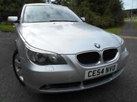 2004 54 BMW 5 SERIES 3.0 530I SE 4D AUTO 228 BHP ** 1 PREVIOUS OWNER , FULL LEAT
