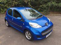 59 Peugeot 107 Verve 1.0 5 Door ** 2 Owners ** £20 Road Tax