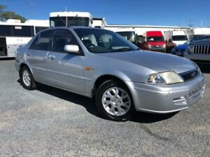 2002 Ford Laser KQ GLXi Silver 4 Speed Automatic Sedan Currumbin Waters Gold Coast South Preview