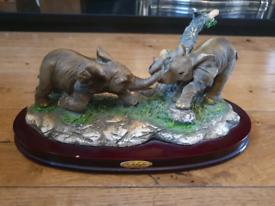 The Wellington Collection, Elephants on Plinth