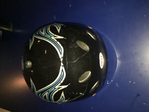 Boys youth helmet 10.00. Hardly worn.