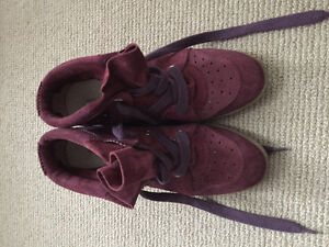 Purple Isabel Marant Bobby sneakers size 40