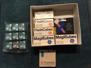 GE FlashCubes for camera