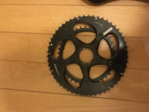 Specialized S-Works Carbon Spider and Standard Chainrings