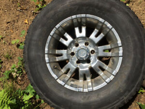 Tires and Rims (Set of 4) for a F150 Ford
