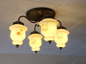 Ceiling light fixture - works great in a dining room