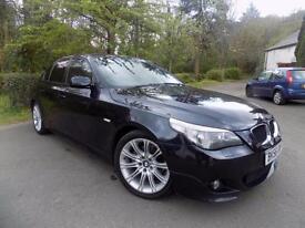 2006 BMW 5 SERIES 520D M SPORT SALOON DIESEL