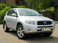 2007 57 Toyota RAV4 2.0 XT4 5dr WITH LEATHER+SUNROOF+FSH++