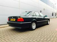 2000 W reg BMW 728i 2.8 Auto Green + Cream Leather + NICE SPEC 7 series