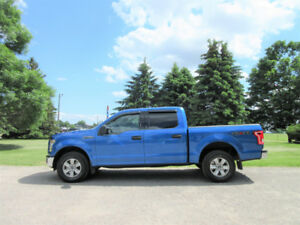2015 Ford F-150 XLT 4WD- Super Crew.  ONE OWNER & ALL NEW BRAKES