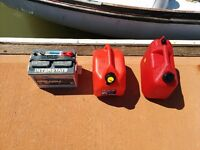 Marine Battery And Fuel Cannisters