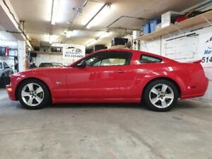 2007 Ford Mustang GT Coupe Premium 55,019KM Torch Red .