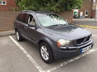 VOLVO XC90 2.4 DIESEL SERVICE HISTORY 7 SEATER