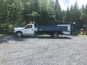 2002 6 roues ford f550 4x4,roll off