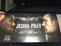 Anthony Joshua tickets x2