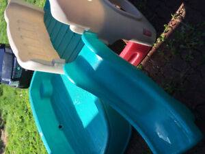 Step 2 climber, slide and pool $100