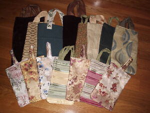 HAND SEWN BAGS - bridal/shopping/baby/gift/shoe/liquor/beach