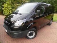 2013/63 Ford Transit Custom 290 L2H1 2.2TDCi 6 SEAT DOUBLE CAB CREW VAN