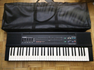 Casio Tone CT-640 with gig bag and adapter.