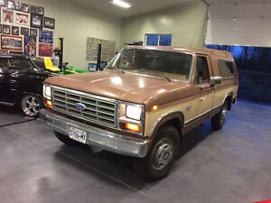 1986 Ford F-250 XL one owner