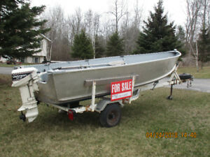 14 ft. Boat, Motor and Trailer Package