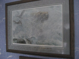 ROBERT BATEMAN ENDANGERED SPACES LE FRAMED