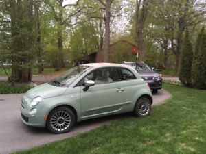 FIAT, 500 C, Lounge, convertible, 2012