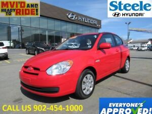 2010 HYUNDAI ACCENT GL low kms! Great deal