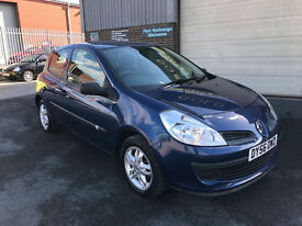 2006 56 RENAULT CLIO 1.2 16v EXTREME 3 DOOR,ONLY 65000 MILES WITH FSH