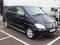 2012 Mercedes-Benz Vito 122 CDI DUALINER SPORT Diesel black Automatic