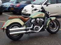 INDIAN SCOUT 2-TONE 2018 MODEL WILLOW/IVORY