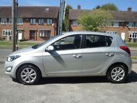 2012 Hyundai i20 1.2 ( 85ps ) Active 5DR 12 REG Petrol Silver