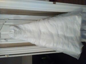 Wedding Dress. Not worn or altered. Size 2 from David's Bridal. Cambridge Kitchener Area image 1