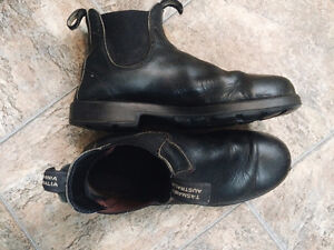 Used Black Blundstone Boots