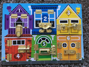 Melissa and Doug Latch Board