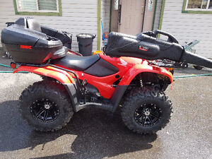 2013 Honda TRX420 LOADED with only 286km!