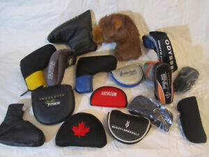 Assorted Golf Putter Covers
