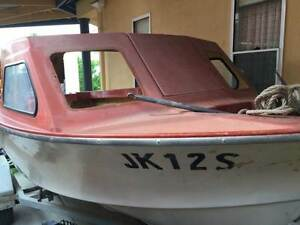 Rover Half Cab Boat & 50hp Mercury key start tilt TrimUrgent Sale Brisbane City Brisbane North West Preview