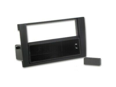 For Seat Exeo Car Radio Panel Mounting Frame Cer Cover 1-DIN Black