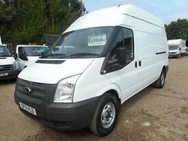 2013 FORD TRANSIT T350 125 LWB HIGH ROOF PANEL VAN DIESEL