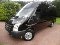 2013 Ford Transit T350 2.2TDCi 125PS ELWB JUMBO TREND WITH AIR/CON