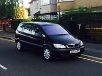 Vauxhall Zafira 1.6, 7 Seater, Long MOT, Service History, Low Miles,1 Former Keeper, Cheap Insurance