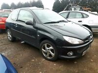 2005 PEUGEOT 206 SPORT S HDI NOW BREAKING FOR PARTS