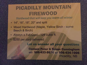 Picadilly Mountain Firewood