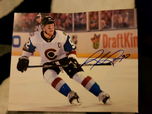 Gabriel Landeskog Autographed 8x10 Photo For Sale