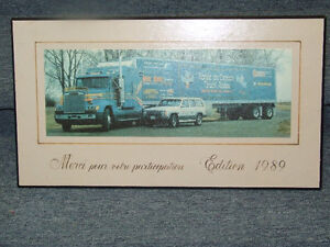 Rodeo du Camion Truck Rodeo participation plaque from 1989