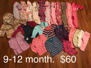 Girls clothes 9-12 month: WINTER Lot