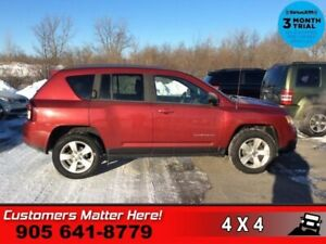 2014 Jeep Compass Sport  4X4 NORTH HTD-SEATS (NEW TIRES) PWR-GRO